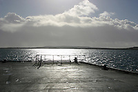 Kilronan Pier Inis Mor the Aran islands County Galway