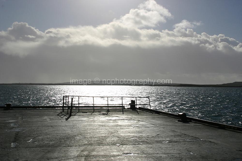 Kilronan Pier Inis Mor the Aran islands County Galway