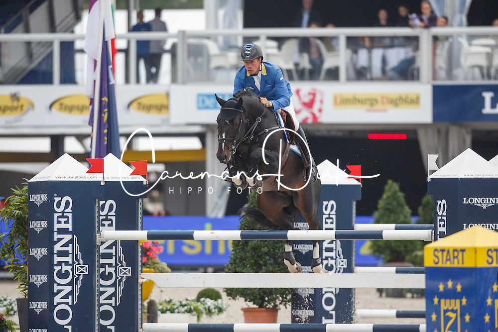 Ahlmann Christian (GER) - Air Jordan Alpha Z<br /> Final 5 years<br /> FEI World Breeding Jumping Championships for Young Horses - Lanaken 2014<br /> © Dirk Caremans