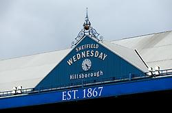 A general view of Hillsborough, home of Sheffield Wednesday, under grey skies - Mandatory by-line: Robbie Stephenson/JMP - 30/07/2017 - FOOTBALL - Hillsborough - Sheffield, England - Sheffield Wednesday v Rangers - Pre-season friendly