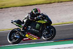 November 14, 2017 - Valencia, Valencia, Spain - 5 Johann Zarco (French) Monster Yamaha Tech 3 during the tests of the new season, MotoGP 2018. Circuit of Ricardo Tormo,Valencia, Spain. Tuesday 14th of november 2017. (Credit Image: © Jose Breton/NurPhoto via ZUMA Press)