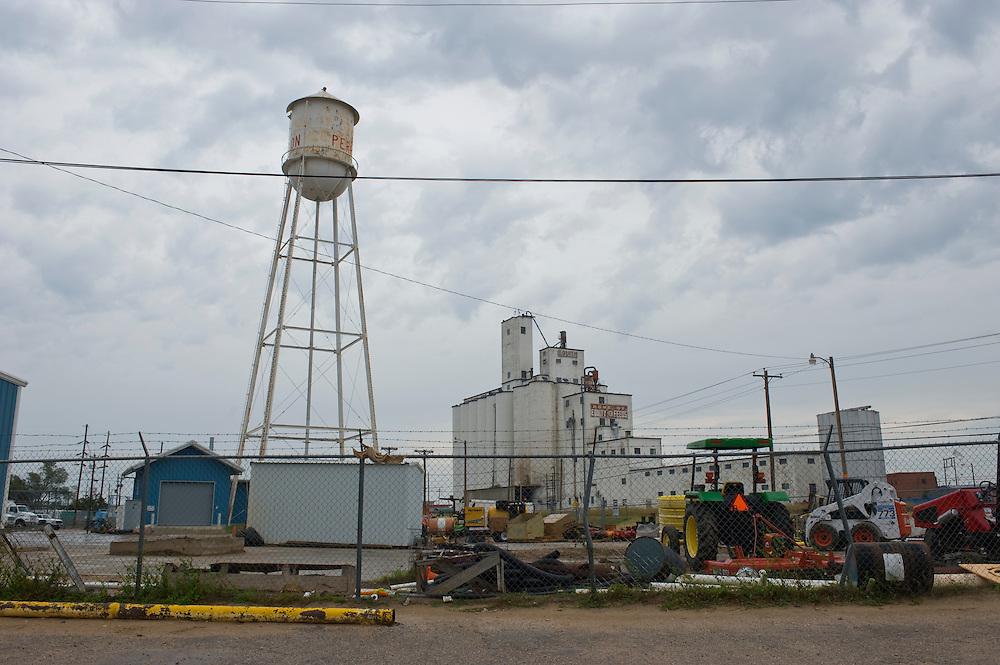 Die Republikaner-Hochburg Perryton /  Texas..© Stefan Falke