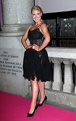 Camilla Kerslake  arriving at the Inspiration Awards for Women in London, Wednesday, 2nd October 2013. Picture by Stephen Lock / i-Images