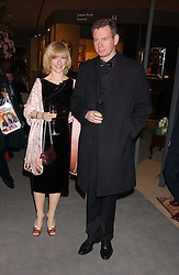JANE HORROCKS and JOHN GORDON SINCLAIR at the British Antiques Dealers Association antiques & Fine art fair in aid of the charity Childline held at the Duke of York Square, Chelsea, London on 23rd March 2006.<br /><br />NON EXCLUSIVE - WORLD RIGHTS