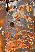Rusted Metal Closeup