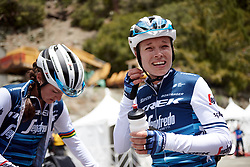 Tayler Wiles (USA) catches her breath at Amgen Tour of California Women's Race empowered with SRAM 2019 - Stage 2, a 74 km road race from Ontario to Mount Baldy, United States on May 17, 2019. Photo by Sean Robinson/velofocus.com