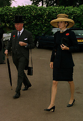 The EARL & COUNTESS OF HALIFAX at Royal Ascot on 17th June 1997. LZI 57