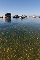"""Boulders at Lake Tahoe 14"" - These boulders were photographed in the early morning near Speedboat Beach, Lake Tahoe."