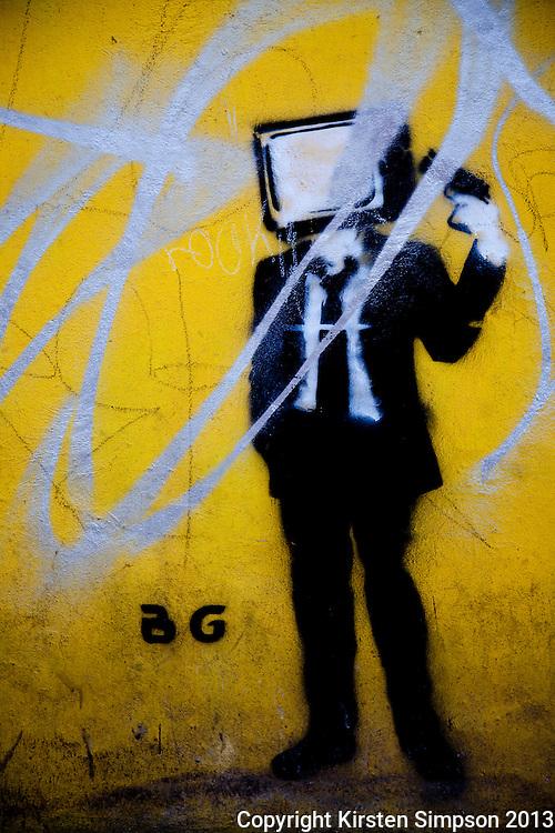 Graffiti in Puebla