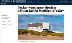 The Sunday Times; Torness power station
