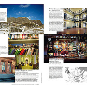 "Tearsheet of ""Belfast of Sam Millar"" published in M Le Magazine du Monde"