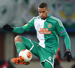 28.11.2013, Ernst Happel Stadion, Wien, AUT, UEFA Europa League, SK Rapid Wien vs FC Thun, Gruppe G, im Bild Terrence Boyd, (SK Rapid Wien, #9) // during a UEFA Europa League group G game between SK Rapid Vienna and FC Thun at the Ernst Happel Stadion, Wien, Austria on 2013/11/28. EXPA Pictures © 2013, PhotoCredit: EXPA/ Thomas Haumer