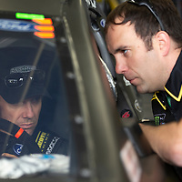May 18, 2018 - Concord, North Carolina, USA: Matt Kenseth (6) gets ready to practice for the Monster Energy Open at Charlotte Motor Speedway in Concord, North Carolina.