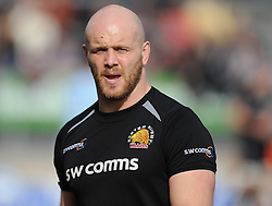 Jack Yeandle of Exeter Chiefs.  - Mandatory byline: Alex Davidson/JMP - 12/03/2016 - RUGBY - Sandy Park -Exeter Chiefs,England - Exeter Chiefs v Newcastle Falcons - Aviva Premiership