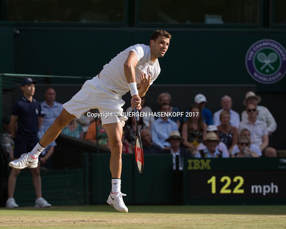GRIGOR DIMITROV (BUL)<br /> <br /> Tennis - Wimbledon 2017 - Grand Slam ITF / ATP / WTA -  AELTC - London -  - Great Britain  - 10 July 2017.