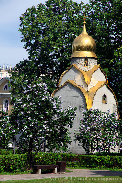 Europe, Russia, Moscow. Novedevichy Convent church.