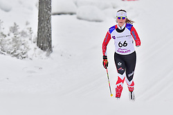 HUDAK Brittany, CAN, LW8 at the 2018 ParaNordic World Cup Vuokatti in Finland