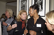 Tina McFarlane, Ruth Pringle and Joy Whittaker. Party for Interior decorators hosted by House and Garden. Vogue House. 11 October 2002. © Copyright Photograph by Dafydd Jones 66 Stockwell Park Rd. London SW9 0DA Tel 020 7733 0108 www.dafjones.com