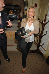 PIA GETTY at a reception to celebrate the launch of Prince Dimitri of Yugoslavia's one-of-a-kind jeweleery collection held at Partridge Fine Art, 144-146 New Bond Street, London on 11th June 2008.<br />