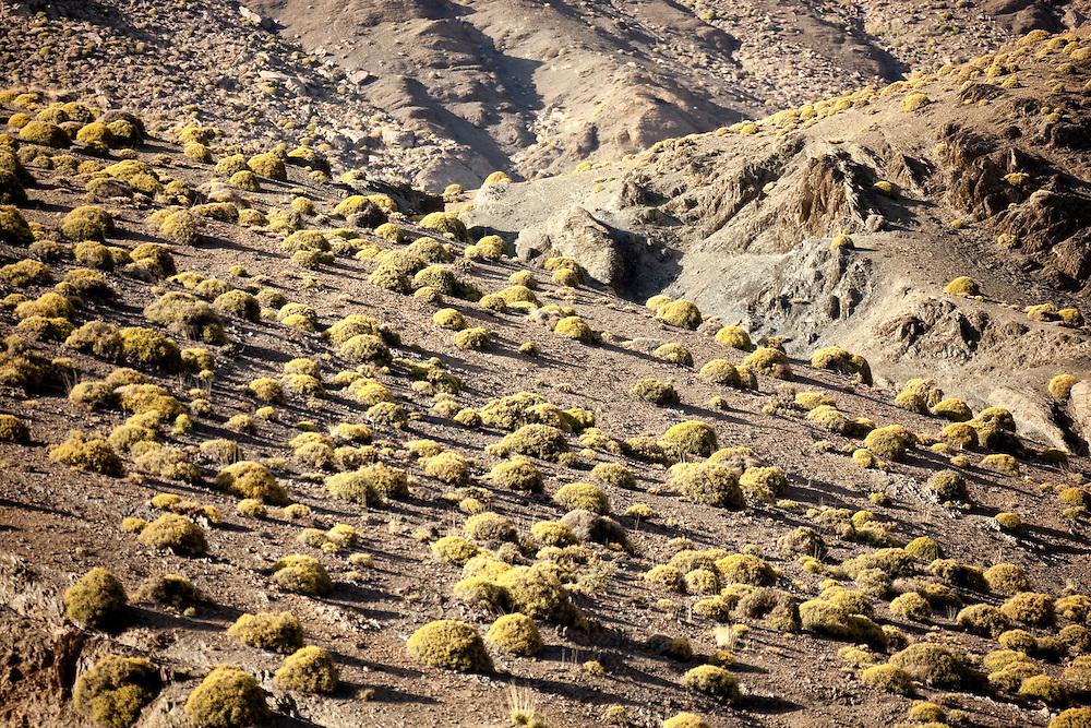 High Atlas Mountains in Morocco.
