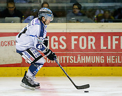 28.09.2014, Messestadion, Dornbirn, AUT, EBEL, Dornbirner EC vs EHC Liwest Black Wings Linz, 6.Runde, im Bild Curtis Murphy, (EHC Liwest Black Wings Linz, #41) // during the Erste Bank Icehockey League 6th round match between Dornbirner EC and EHC Liwest Black Wings Linz at the Messestadion in Dornbirn, Austria on 2014/09/28, EXPA Pictures © 2014, PhotoCredit: EXPA/ Peter Rinderer