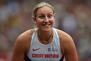 Holly Bradshaw of Great Britain during the Muller Anniversary Games at the London Stadium, London, England on 9 July 2017. Photo by Martin Cole.