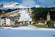 Ski season in Lech, Austria