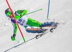 58# Bozic Borut of Slovenia during the slalom of National Championship of Slovenia 2019, on March 24, 2019, on Krvavec, Slovenia. Photo by Urban Meglic / Sportida