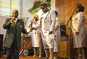 Reverend Sam Clark and Ann Scott,Silver Stars of Heaven, Detroit Gospel Church Performances