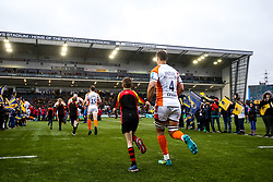 Anton Brelser of Worcester Warriors runs out at Sixways Stadium - Mandatory by-line: Robbie Stephenson/JMP - 15/02/2020 - RUGBY - Sixways Stadium - Worcester, England - Worcester Warriors v Bath Rugby - Gallagher Premiership Rugby