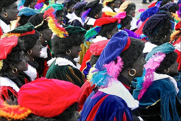 Nederland, Nijmegen, 12-11-2011Zwarte pieten, piet, in Nijmegen tijdens de intocht van Sinterklaas.Foto: Flip Franssen/Hollandse Hoogte