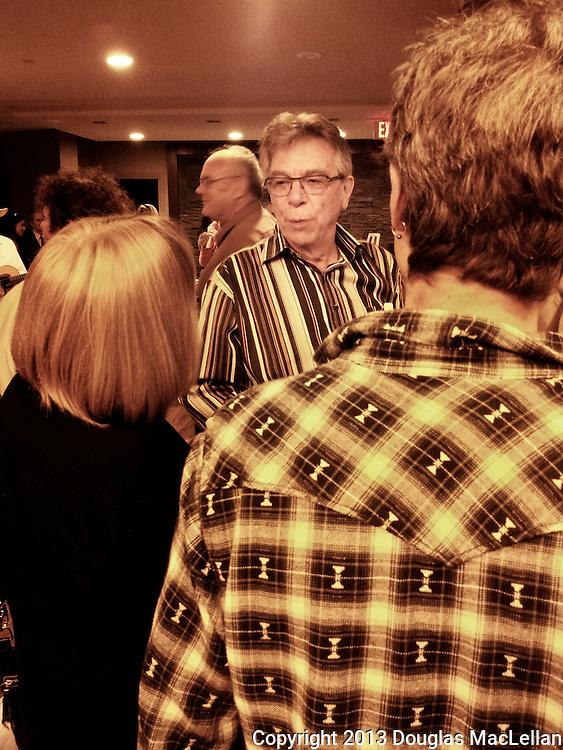 David Ivens at Moira McElhinney's celebration of life event, Toronto, Ontario.