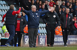 Peterborough United Manager Steve Evans appeals for a decision from the touchline - Mandatory by-line: Joe Dent/JMP - 10/03/2018 - FOOTBALL - ABAX Stadium - Peterborough, England - Peterborough United v Charlton Athletic - Sky Bet League One