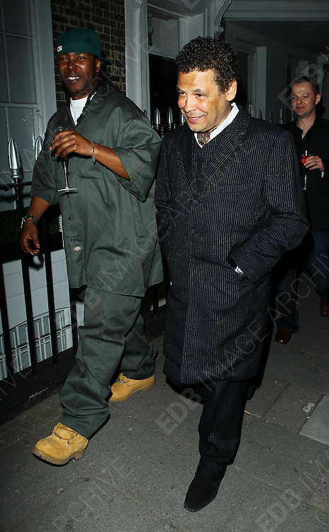 20.APRIL.2010. LONDON<br /> <br /> CRAIG CHARLES LEAVING FLEMINGS MAYFAIR HOTEL AFTER ATTENDING OK MAGAZINE'S EDITOR LISA BYRNE'S 40TH BIRTHDAY PARTY.<br /> <br /> BYLINE: EDBIMAGEARCHIVE.COM<br /> <br /> *THIS IMAGE IS STRICTLY FOR UK NEWSPAPERS AND MAGAZINES ONLY FOR*<br /> *WORLD WIDE SALES AND WEB USE PLEASE CONTACT EDBIMAGEARCHIVE - 0208 954 5968*