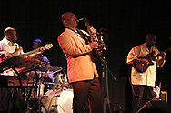 Walter Beasley (center) performs at Gilly's Niteclub in Dayton, Friday, May 11th.