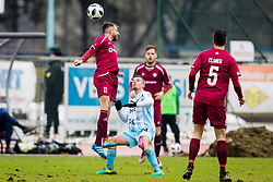 Dejan Robnik of NK Triglav Kranj during football match between NK Triglav Kranj and ND Gorica in Round #24 of Prva Liga Telekom Slovenije 2017/18, on March 18, 2018 in Sportni park Kranj, Kranj, Slovenia. Photo by Ziga Zupan / Sportida