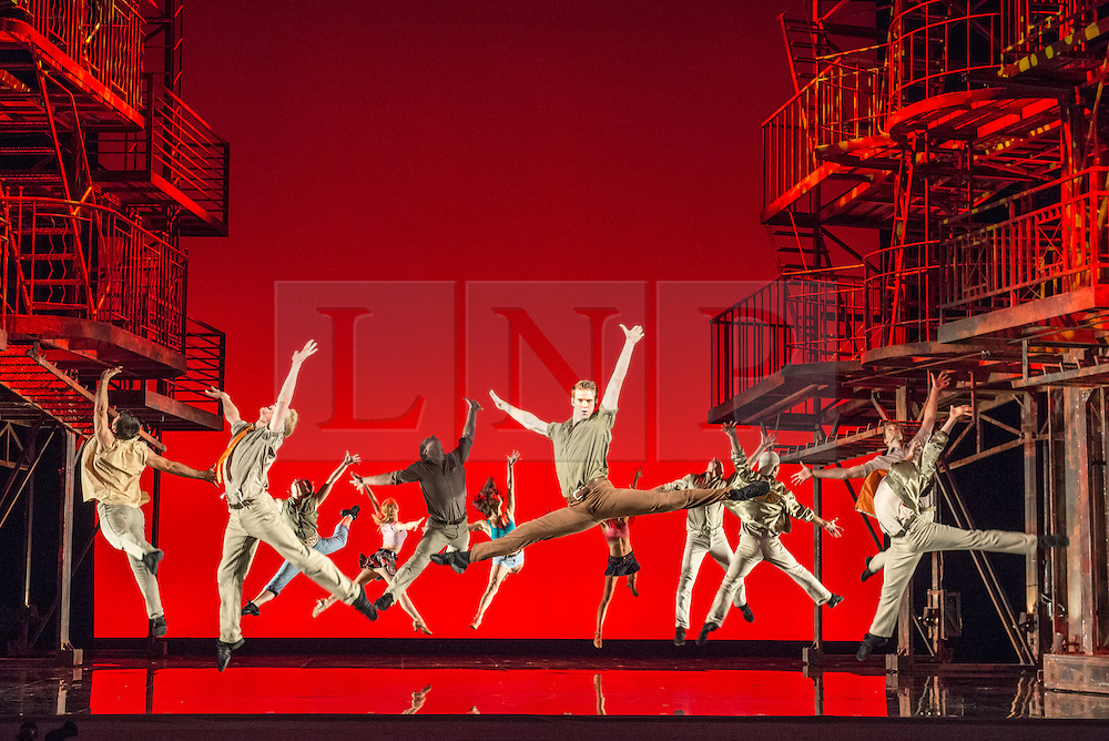"""© Licensed to London News Pictures. 07/08/2013. """"WEST SIDE STORY"""" returns to Sadler's Wells Theatre from Wednesday 7 August - Sunday 22 September 2013. This production is directed and choreographed by Joey McKneely using the full original Jerome Robbins choreography.  Photo credit: Tony Nandi/LNP"""