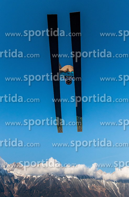 03.01.2017, Bergiselschanze, Innsbruck, AUT, FIS Weltcup Ski Sprung, Vierschanzentournee, Innsbruck, Training, im Bild Daniel Andre Tande (NOR) // Daniel Andre Tande of Norway during his Practice Jump for the Four Hills Tournament of FIS Ski Jumping World Cup at the Bergiselschanze in Innsbruck, Austria on 2017/01/03. EXPA Pictures © 2017, PhotoCredit: EXPA/ JFK