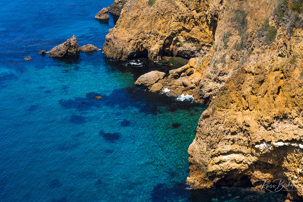 Cavern Point, Santa Crus Island, Channel Islands National Park, California USA
