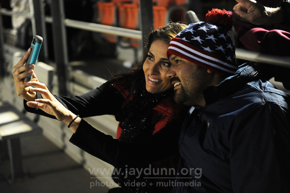 Selfies at Monday's July 4th celebrations in Salinas.