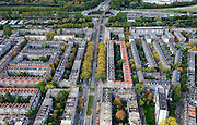 Nederland, Zuid-Holland, Rotterdam, 23-10-2013; Schieweg<br /> North Rotterdam. residential area.<br /> luchtfoto (toeslag op standaard tarieven);<br /> aerial photo (additional fee required);<br /> copyright foto/photo Siebe Swart.