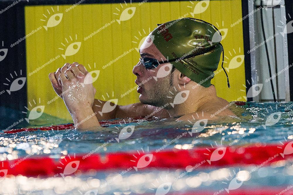 Mattia Pesce<br /> Fiamme Oro/Forum S.C.<br /> 50 Rana Finale A<br /> Campionati Italiani Assoluti Nuoto Primaverili<br /> Riccione  Italy 8 - 12/04/2013<br /> Day01<br /> Photo Andrea Masini/Deepbluemedia/Insidefoto