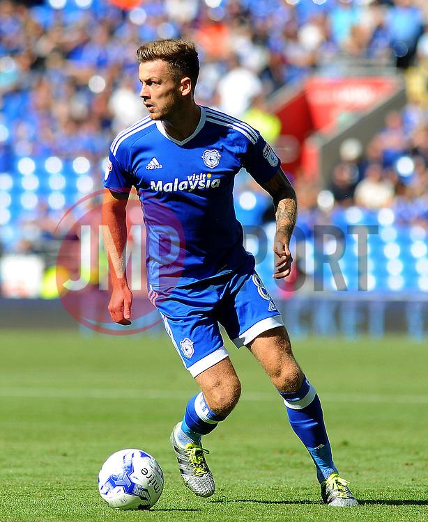Anthony Pilkington of Cardiff City  - Mandatory by-line: Nizaam Jones/JMP- 17/09/2016 -  FOOTBALL - Cardiff City Stadium - Cardiff, Wales -  Cardiff City v Leeds United - Sky Bet Championship