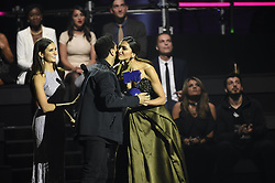 Nina Dobrev, The Weeknd und Deepika Padukone bei Verleihung der MTV Europe Music Awards in Rotterdam / 061116 <br /> <br /> *** The show during the MTV Europe Music Awards in Rotterdam, Netherlands, November 06, 2016 ***