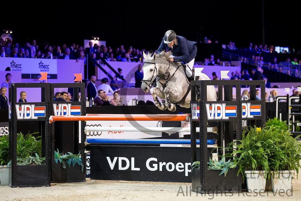 Albert Zoer - Dum Drum<br /> Jumping Indoor Maastricht 2016<br /> &copy; DigiShots
