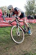 Belgium, November 1 2017:  Dario Tielen during the 2017 edition of the Koppenbergcross. Copyright 2017 Peter Horrell.
