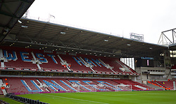 LONDON, ENGLAND - Saturday, January 2, 2016: A general view of West Ham United's Bobby Moore Stand at Upton Park before the Premier League match against Liverpool. (Pic by David Rawcliffe/Propaganda)