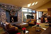 Christmas at the Allison Inn, Newberg, Willamette Valley wine country, Oregon