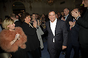 Helene Darroze; RAYMOND BLANC Tatler Restaurant Awards. Mandarin Oriental Hyde Park. Knightsbridge. London. 19 January 2009<br /> Helene Darroze; RAYMOND BLANC Tatler Restaurant Awards. Mandarin Oriental Hyde Park. Knightsbridge. London. 19 January 2009 *** Local Caption *** -DO NOT ARCHIVE-© Copyright Photograph by Dafydd Jones. 248 Clapham Rd. London SW9 0PZ. Tel 0207 820 0771. www.dafjones.com.