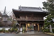 Entrén till tempel nummer 1, Ryōzen-ji (霊山寺)<br /> <br /> Pilgrimsvandring till 88 tempel på japanska ön Shikoku till minne av den japanske munken Kūkai (Kōbō Daishi). <br /> <br /> Fotograf: Christina Sjögren<br /> Copyright 2018, All Rights Reserved<br /> <br /> The first temple Ryōzen-ji (霊山寺) of the Shikoku Pilgrimage, 88 temples associated with the Buddhist monk Kūkai (Kōbō Daishi) on the island of Shikoku, Naruto,Tokushima Prefecture, Japan